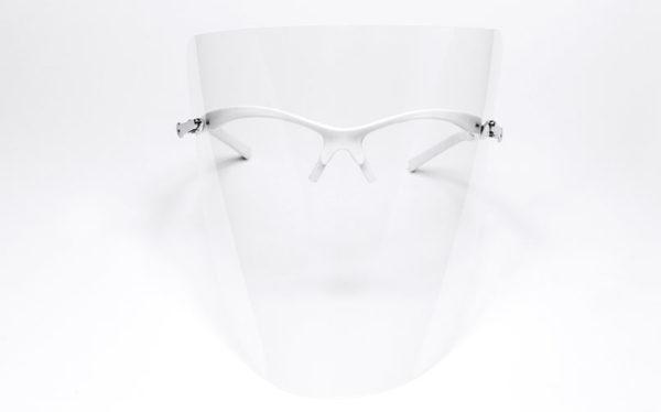 Przyłbica ochronna Comfort biała