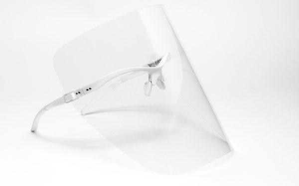 Przyłbica ochronna Comfort Plus biała